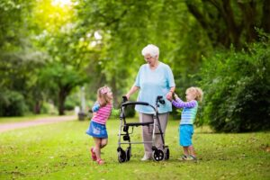 mobility aid devices for elderly people