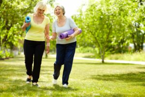 active lifestyle for elderly people