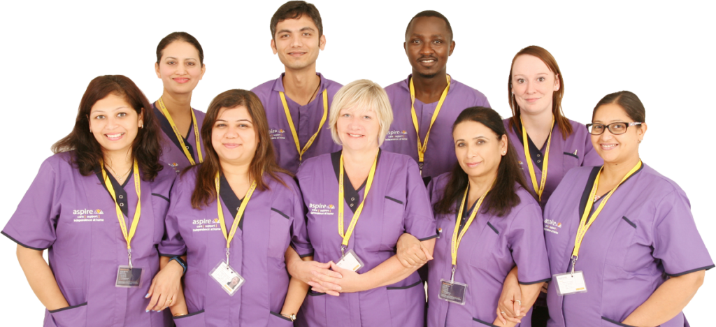 Join Aspire UK home care team