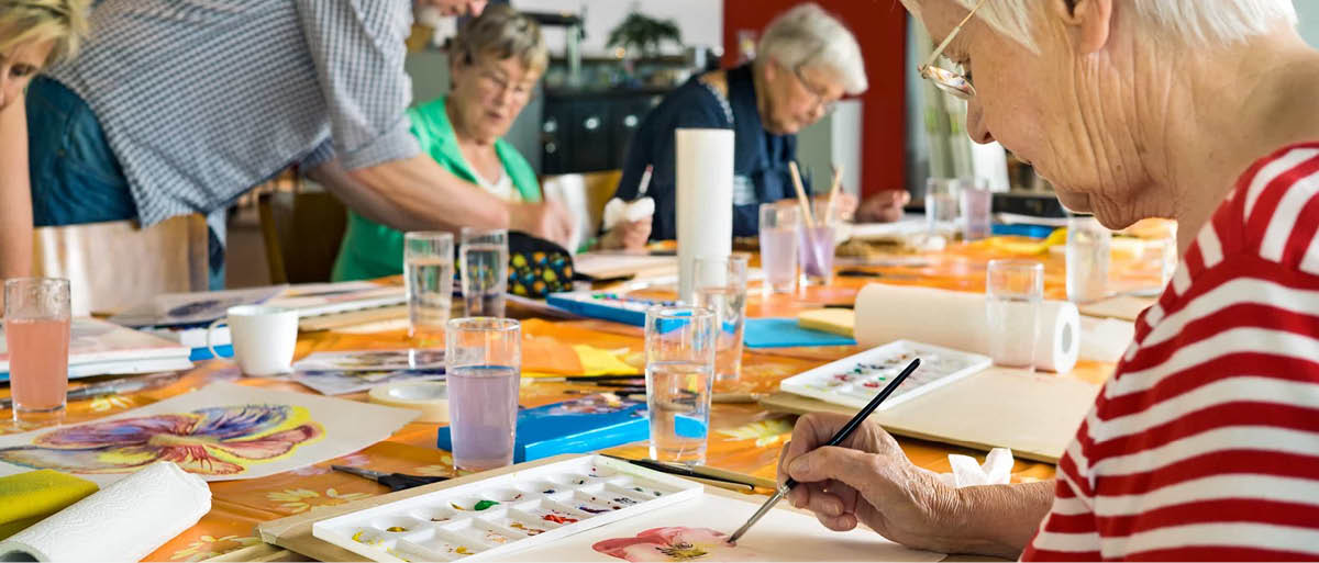 social activities for the elderly and day care services